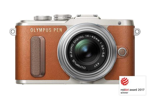 Olympus PEN E-PL8 red dot