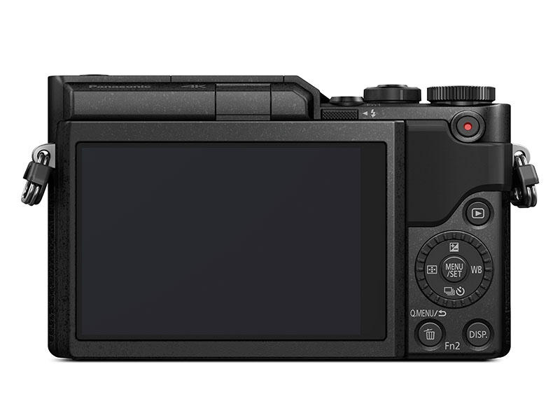 Panasonic GX800 Black back